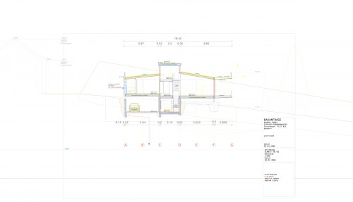 1_design section for single family house